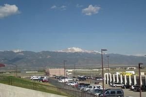 Hyrbil Colorado Springs Flygplats