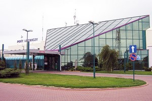 Hyrbil Lodz Flygplats