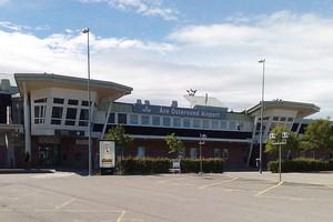 Hyrbil Østersund Flygplats