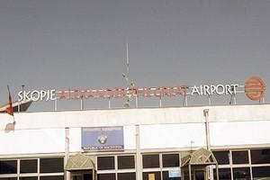 Hyrbil Skopje Flygplats