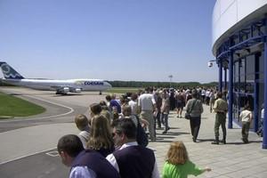 Hyrbil Stettin Flygplats